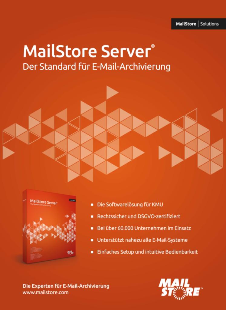 MailStore-Mailarchivierung nach DSGVO